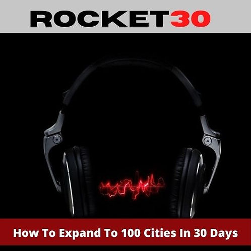 How To Expand 100 Cities In 30 Days