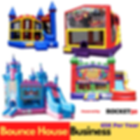 Bunce House Business- banner for bounce