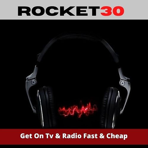 How To Get On Radio & TV Fast