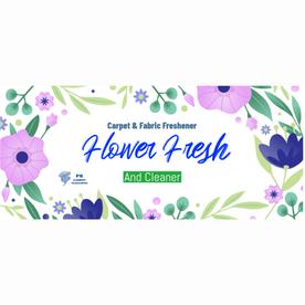 Flower Fresh Freshener & Cleaner