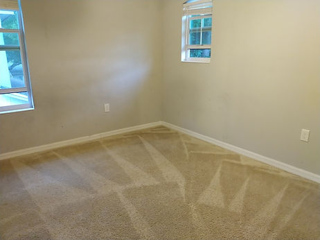 f5 carpet cleaning empty room
