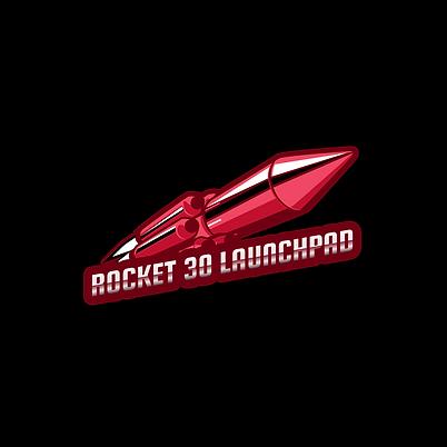 gaming-logo-template-inspired-in-rocket-