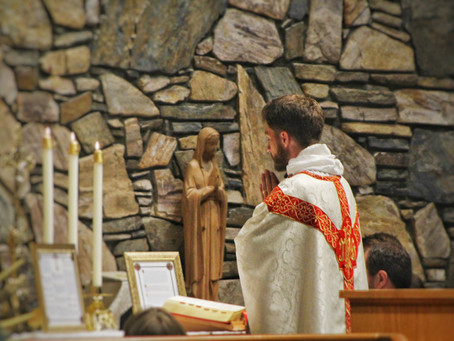Photos from Transfiguration Mass