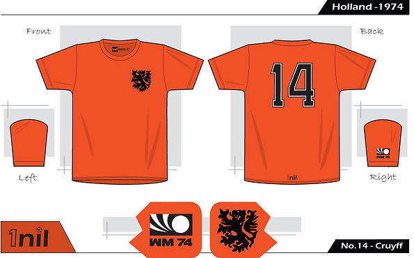 Holland 1974 - No.14 Cruyff