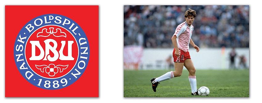 Denmark 1986 - No.11 Laudrup