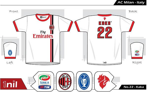 AC Milan 2013 - No.22 Kaka