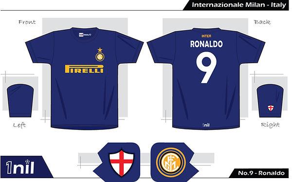 Inter Milan 1997 Ronaldo Pirelli