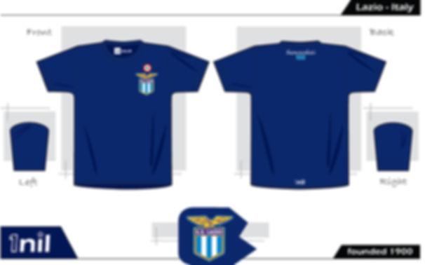Lazio retro football shirt