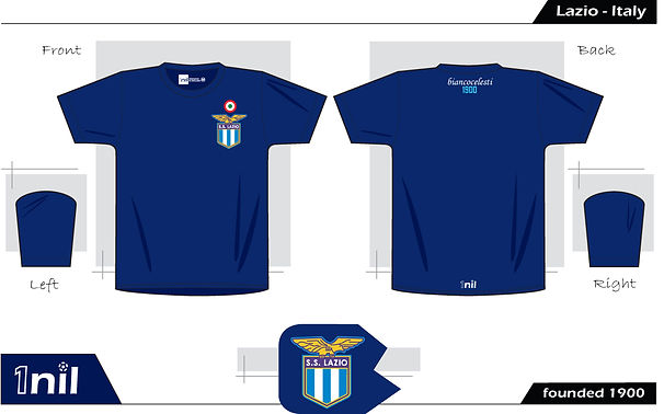 Lazio retro football shirt