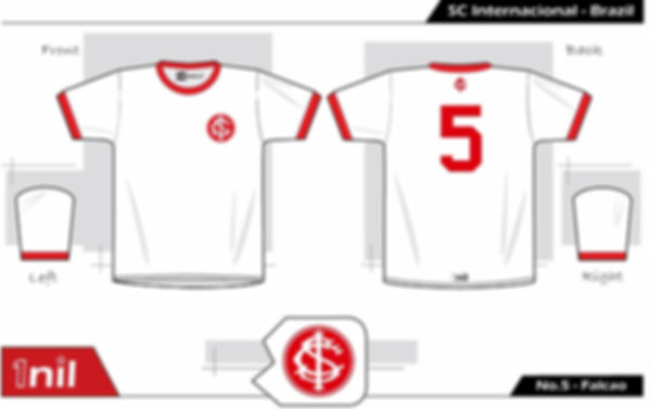 SC Internacional 1975 - No.5 Falcao