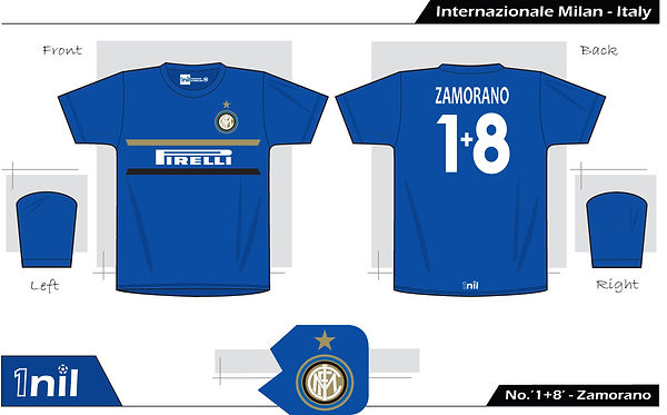 Inter Milan 1998 - No. 1+8 Zamorano