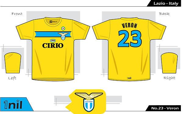 Lazio 1998 - No.23 Veron