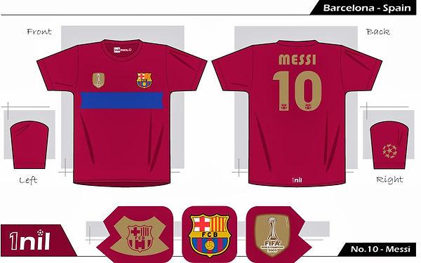 Barcelona 2009 - No.10 Messi