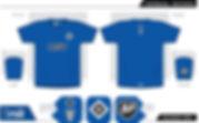 Hamburg football shirt