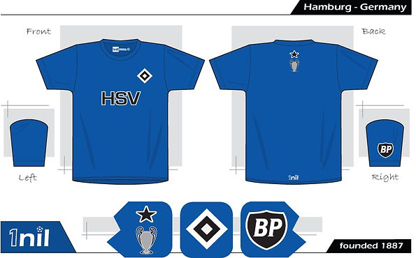 Hamburg football shirt