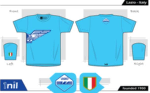 Lazio - Aquile retro football shirt