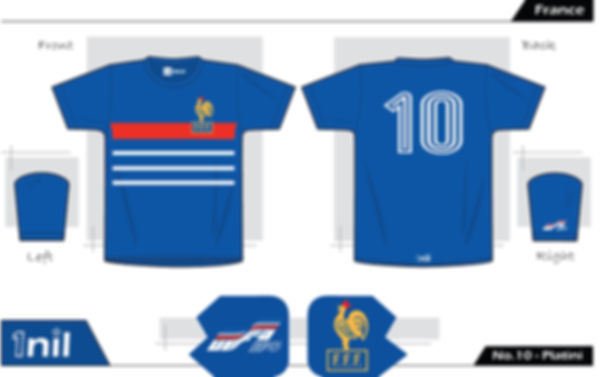 France 1984 - No.10 Platini /
