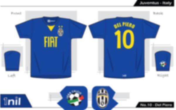Juventus - No.10 Del Piero