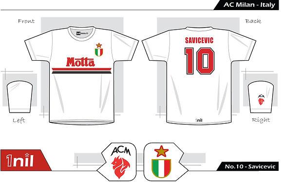 AC Milan 1994 - No.10 Savicevic