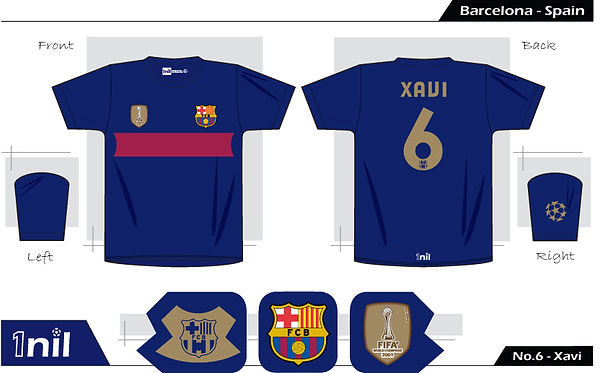 Barcelona 2009 - No.6 Xavi