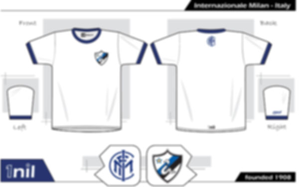 Inter Milan retro football shirt