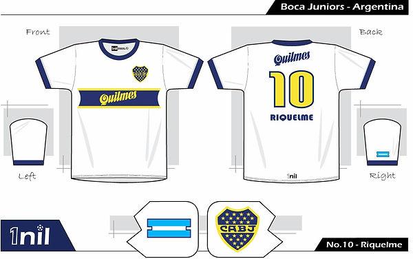 Boca Juniors 1997 - No.10 Riquelme