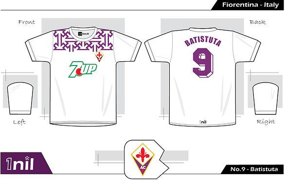 Fiorentina 1992 - No.9 Batistuta