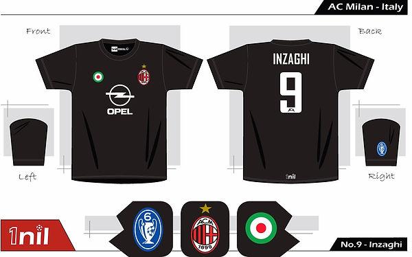 AC Milan 2003 - No.9 Inzaghi
