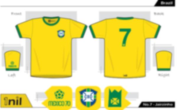 Brazil 1970 - No.7 Jairzinho