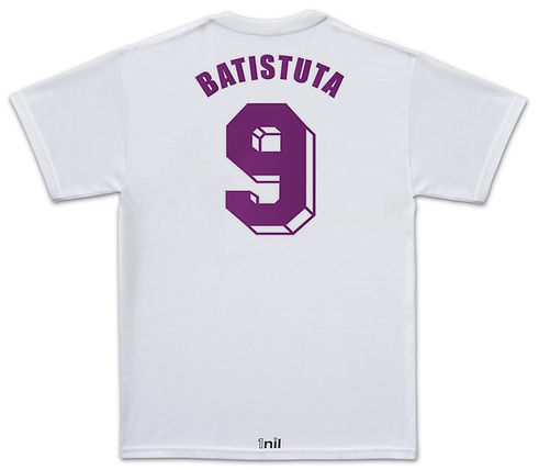 Fiorentina football shirt Batistuta
