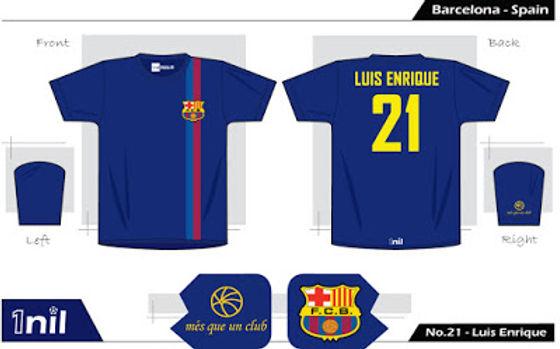 Barcelona 1999 - No.21 Luis Enrique