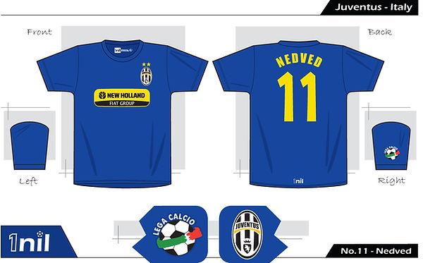 Juventus 2009 - No.11 Nedved