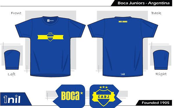 Boca Juniors football shirt