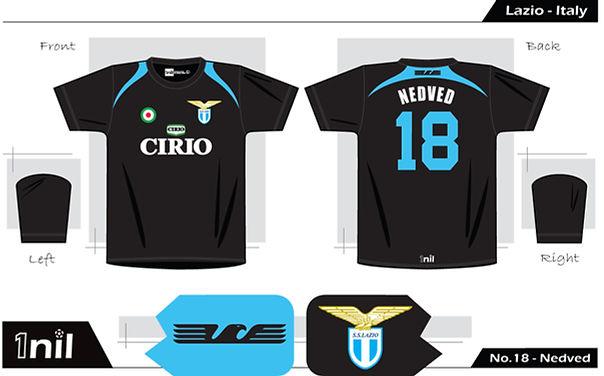 Lazio 1998 - No.18 Nedved