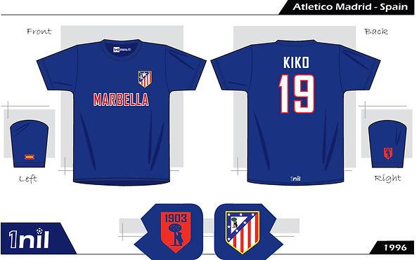 Atletico Madrid 1996 - No.19 Kiko