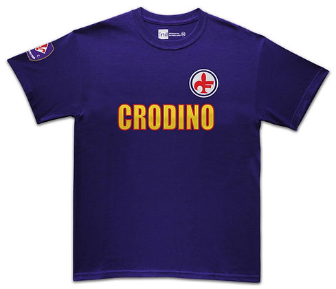 Fiorentina football shirt Crodino
