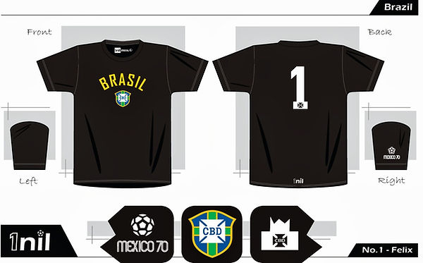 Brazil football shirt Felix