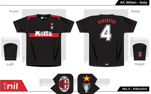 AC Milan 1993 - No.4 Albertini