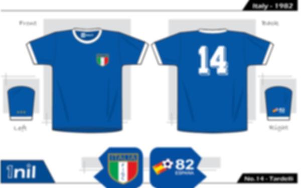 Italy 1982 - No.14 Tardelli