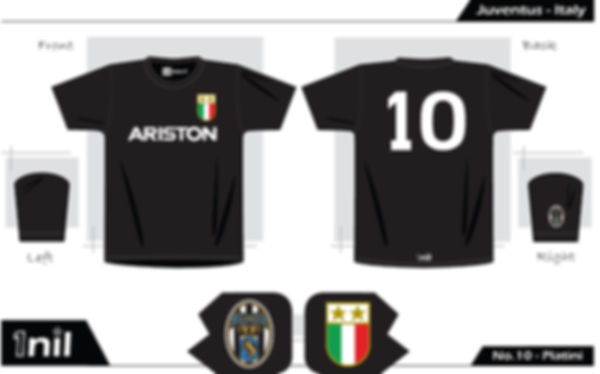Juventus retro football shirt