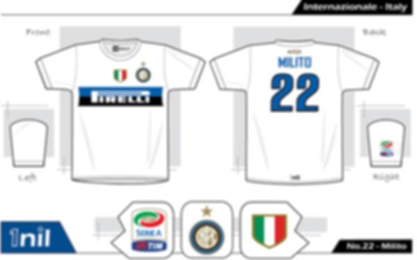 Inter Milan 2009 - No.22 Milito