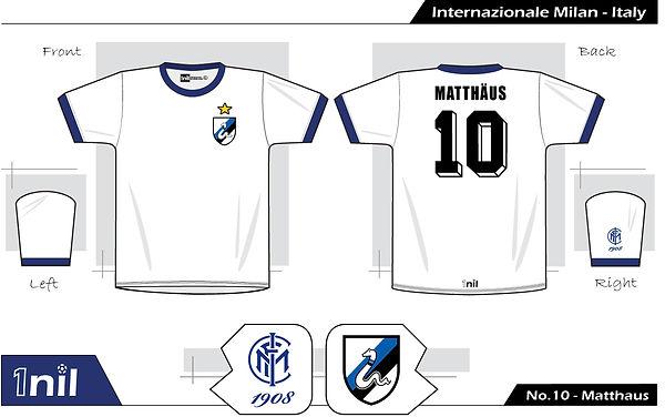 Inter Milan 1988 - No.10 Matthaus