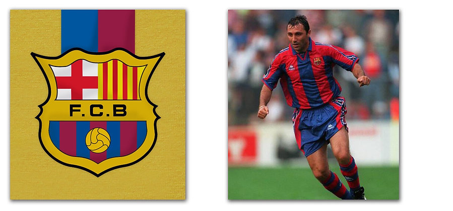 Barcelona 1992 - No.8 Stoichkov / 01