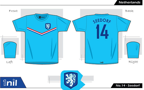 Netherlands - No.14 Seedorf