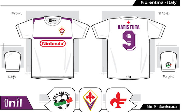 Fiorentina 1997 - No.9 Batistuta