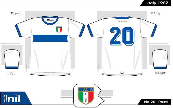 Italy 1982 - No.20 Rossi
