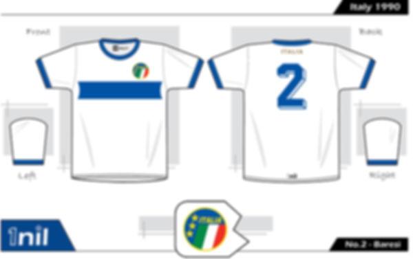 Italy 1990- No.2 Baresi