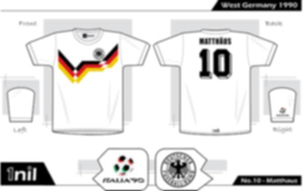 West Germany 1990 - No.10 Matthäus