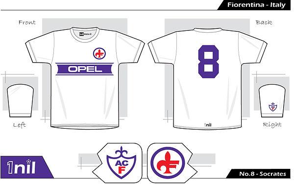 Fiorentina 1984 - No.8 Socrates