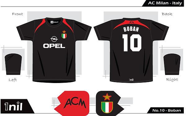 AC Milan 1995 - Opel No.10 Boban